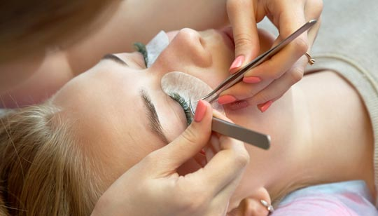Book a lash appointment in our private lash suite today!
